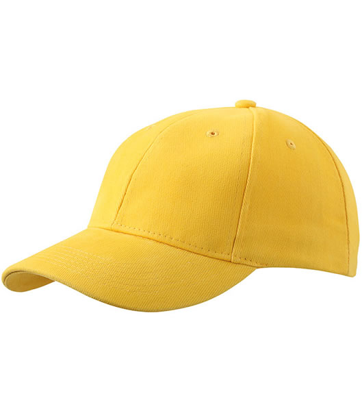Czapka MB016 6 Panel cap Laminated - 016_golg_yellow_MB - Kolor: Gold yellow