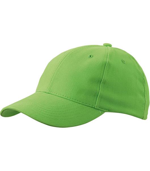 Czapka MB016 6 Panel cap Laminated - 016_lime_green_MB - Kolor: Lime green