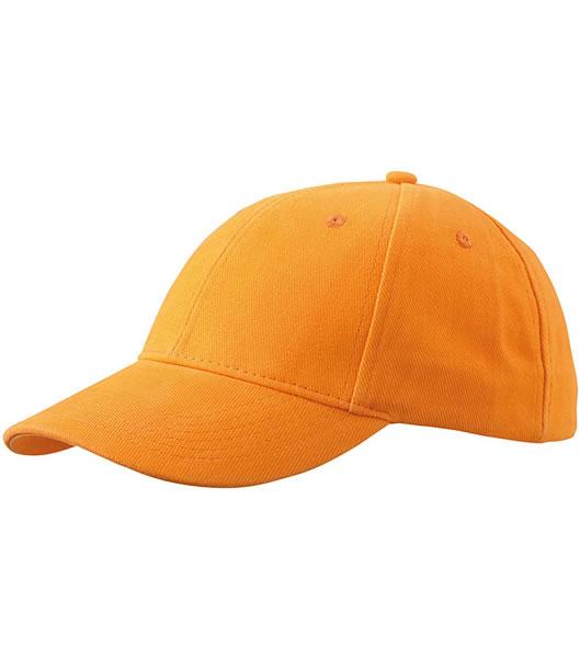 Czapka MB016 6 Panel cap Laminated - 016_orange_MB - Kolor: Orange