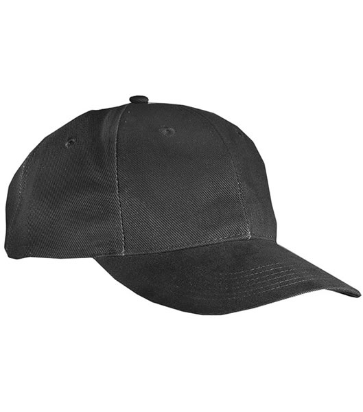 Czapka MB018 6 Panel Cap close-fitting - 018_black_MB - Kolor: Black