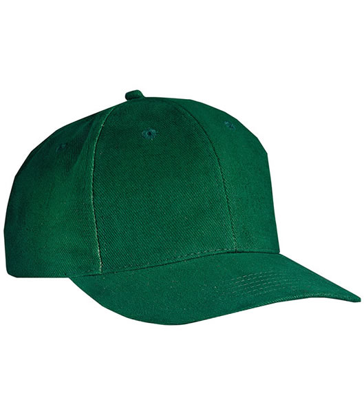 Czapka MB018 6 Panel Cap close-fitting - 018_dark_green_MB - Kolor: Dark green