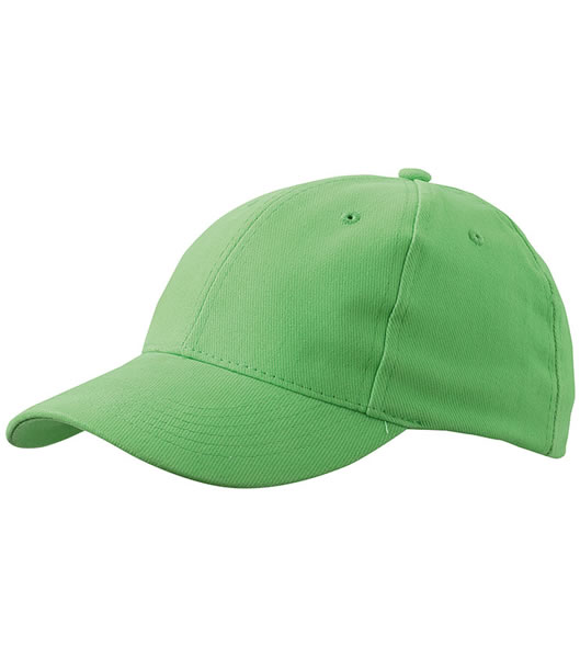 Czapka MB018 6 Panel Cap close-fitting - 018_lime_green_MB - Kolor: Lime green