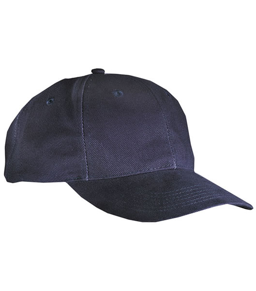 Czapka MB018 6 Panel Cap close-fitting - 018_navy_MB - Kolor: Navy