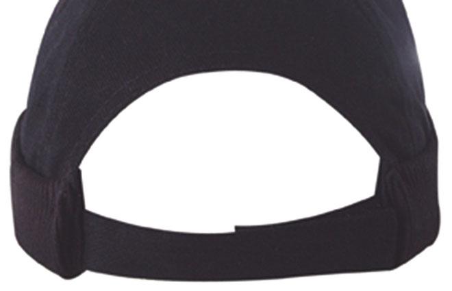 Czapka MB022 6 Panel Chef Cap - 022_detale_MB - Kolor: Black