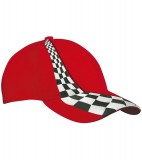 Czapka MB038 Ring Cap - 038_red_MB Red