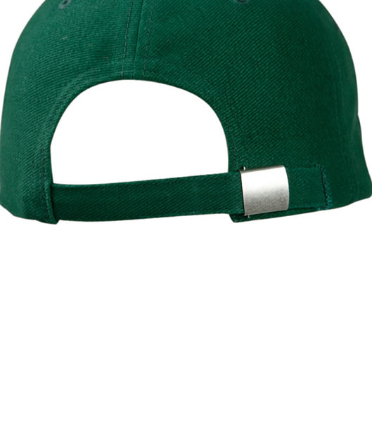 Czapka MB049 Half - Pipe Sandwich Cap - 049_detale_MB - Kolor: Darg green / Red / Dark green