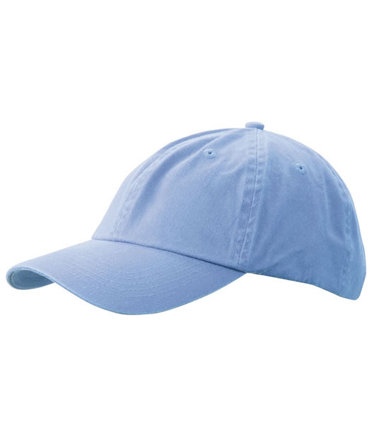 Czapka MB097 Enzyme Washed Cap - 097_baby_blue_MB - Kolor: Baby blue