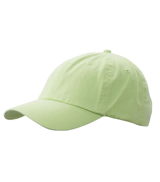 Czapka MB097 Enzyme Washed Cap - 097_lime_green_MB - Kolor: Lime green