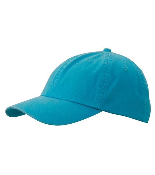 Czapka MB097 Enzyme Washed Cap - 097_turquoise_MB - Kolor: Turquoise