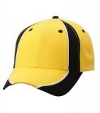 Czapka MB135 Club Cap - 135_yellow_black_white_MB Yellow / Black / White