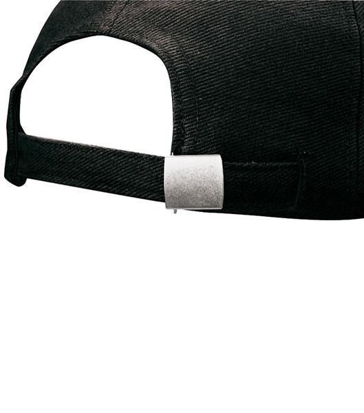 Czapka MB601 Groove Cap - 601_detale_MB - Kolor: Black / White