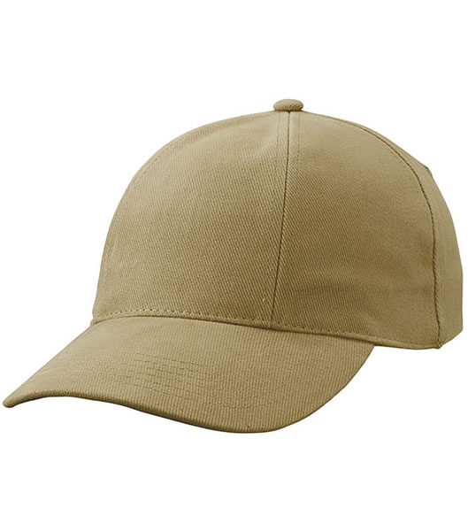 Czapka MB609 Turned 6 Panel Cap laminated  - 609_dark_khaki_MB - Kolor: Dark khaki