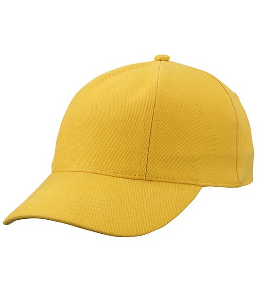 Czapka MB609 Turned 6 Panel Cap laminated  - 609_gold_yellow_MB - Kolor: Gold yellow
