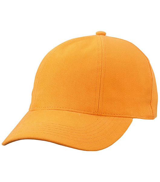 Czapka MB609 Turned 6 Panel Cap laminated  - 609_orange_MB - Kolor: Orange