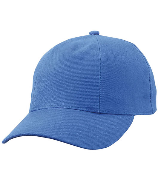 Czapka MB609 Turned 6 Panel Cap laminated  - 609_royal_MB - Kolor: Royal