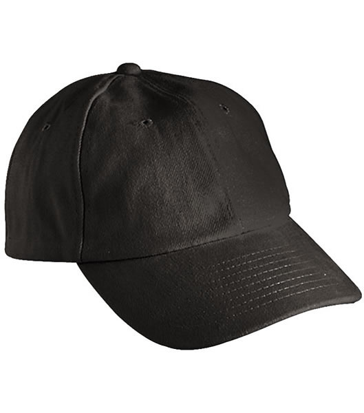 Czapka MB6111 6 PANEL RAVER CAP - 6111_black_MB - Kolor: Black