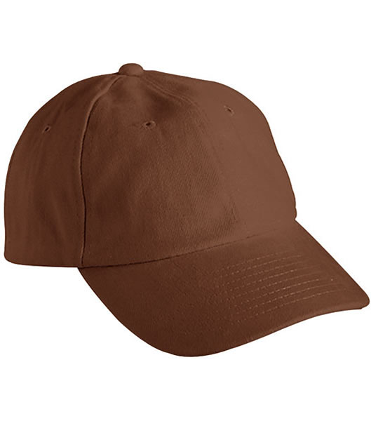 Czapka MB6111 6 PANEL RAVER CAP - 6111_dark_browne_MB - Kolor: Dark brown