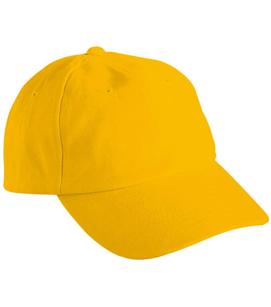 Czapka MB6111 6 PANEL RAVER CAP - 6111_gold_yellow_MB - Kolor: Gold yellow