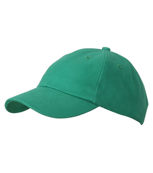 Czapka MB6111 6 PANEL RAVER CAP - 6111_green_MB - Kolor: Green