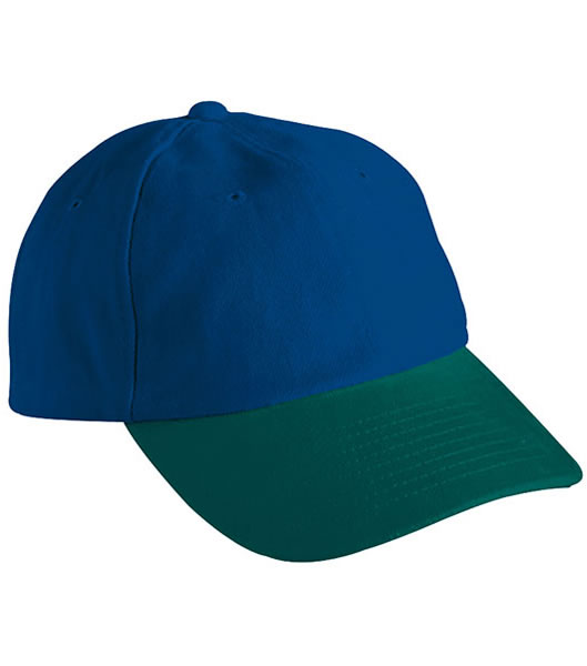 Czapka MB6111 6 PANEL RAVER CAP - 6111_navy_darkgreen_MB - Kolor: Navy / Dark green
