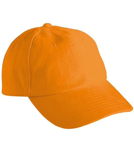 Czapka MB6111 6 PANEL RAVER CAP - 6111_orange_MB - Kolor: Orange