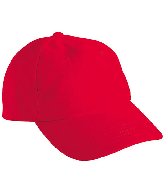 Czapka MB6111 6 PANEL RAVER CAP - 6111_signal_red_MB - Kolor: Signal red