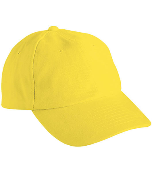 Czapka MB6111 6 PANEL RAVER CAP - 6111_yellow_MB - Kolor: Yellow