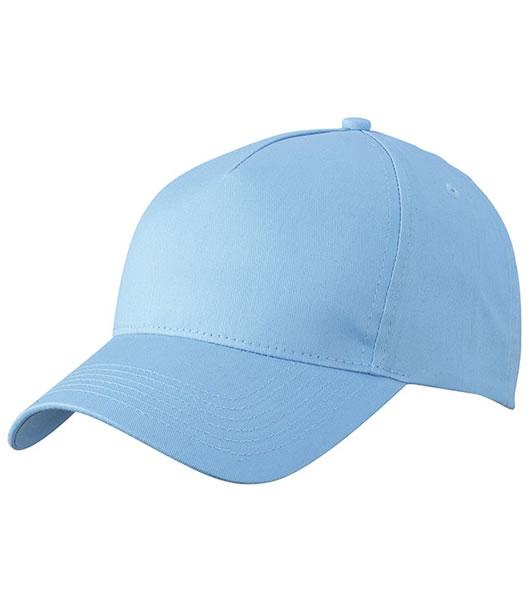 Czapka MB6117 5 Panel Cap  - 6117_light_blue_MB - Kolor: Light blue