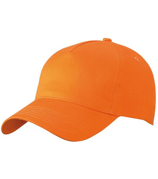 Czapka MB6117 5 Panel Cap  - 6117_orange_MB - Kolor: Orange