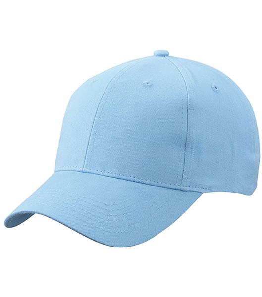 Czapka MB6118 Brushed 6 Panel Cap - 6118_light_blue_MB - Kolor: Light blue