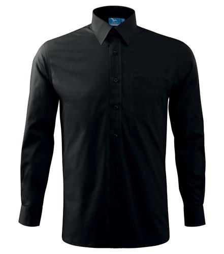 Koszula A 209 SHIRT LONG SLEEVE - 209_01_A - Kolor: Czarny