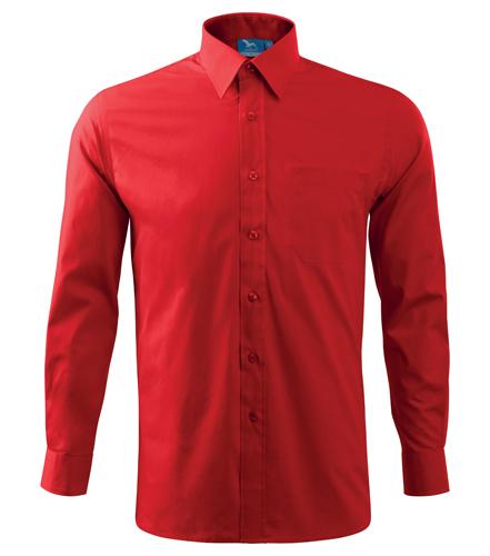 Koszula A 209 SHIRT LONG SLEEVE - 209_07_A - Kolor: Czerwony