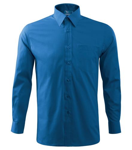 Koszula A 209 SHIRT LONG SLEEVE - 209_14_A - Kolor: Lazurowy
