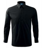 Koszula A 209 SHIRT LONG SLEEVE - 209_01_A Czarny