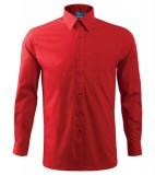 Koszula A 209 SHIRT LONG SLEEVE - 209_07_A Czerwony