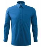Koszula A 209 SHIRT LONG SLEEVE - 209_14_A Lazurowy