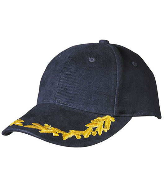 Czapka MB6121 6 Panel Vip Cap - 6121_navy_MB - Kolor: Navy