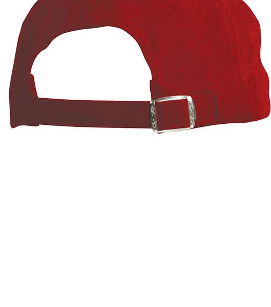 Czapka MB6121 6 Panel Vip Cap - 6121_detale_MB - Kolor: Red