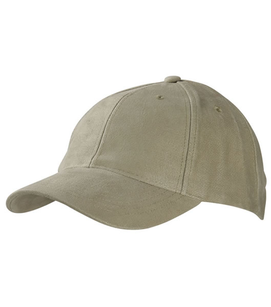 Czapka MB6128 6 Panel Raver Cap Laminated - 6128_beige_MB - Kolor: Beige