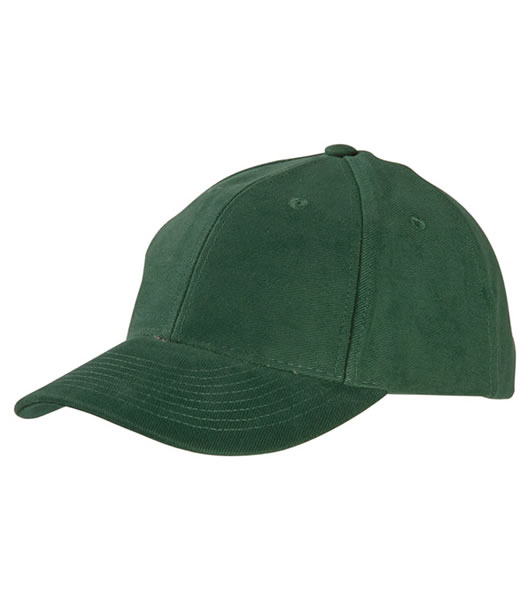 Czapka MB6128 6 Panel Raver Cap Laminated - 6128_dark_green_MB - Kolor: Dark green
