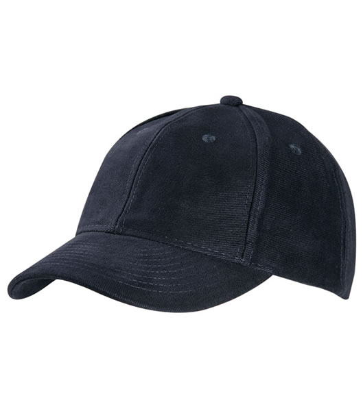 Czapka MB6128 6 Panel Raver Cap Laminated - 6128_navy_MB - Kolor: Navy