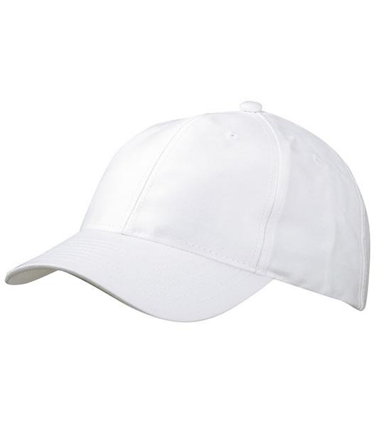 Czapka MB6131 6 Panel Baseball Cap - 6131_white_MB - Kolor: White