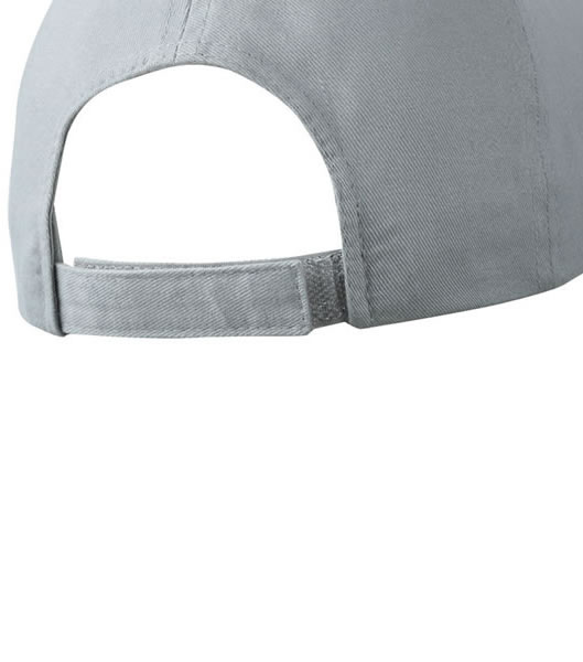 Czapka MB6501 Piping Cap - 6501_detale_MB - Kolor: Grey / Black