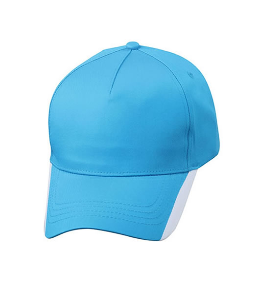 Czapka MB6502 Two Tone Cap - 6502_aqua_white_MB - Kolor: Aqua / White