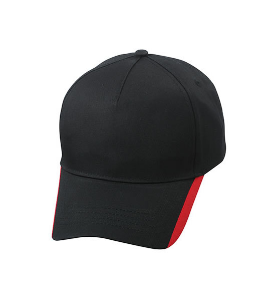 Czapka MB6502 Two Tone Cap - 6502_black_red_MB - Kolor: Black / Red