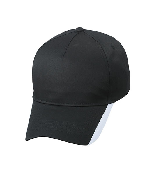Czapka MB6502 Two Tone Cap - 6502_black_white_MB - Kolor: Black / White
