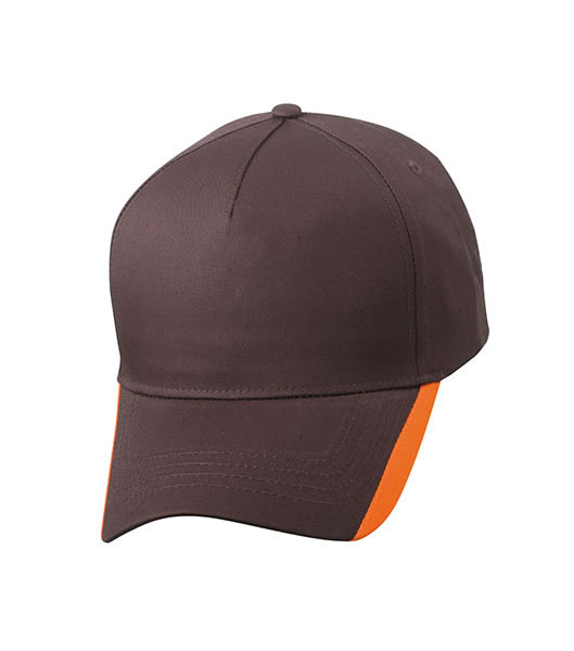 Czapka MB6502 Two Tone Cap - 6502_brown_orange_MB - Kolor: Brown / Orange