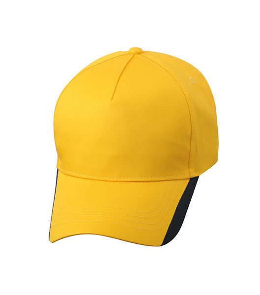 Czapka MB6502 Two Tone Cap - 6502_goldyellow_navy_MB - Kolor: Gold yellow / Navy