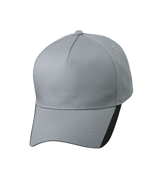 Czapka MB6502 Two Tone Cap - 6502_grey_black_MB - Kolor: Grey / Black