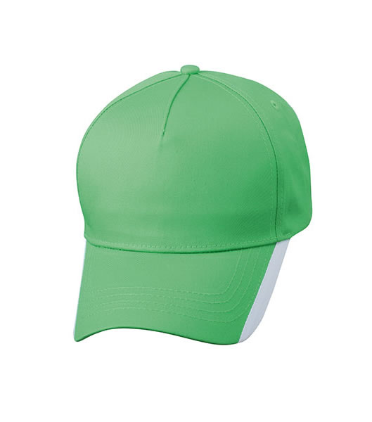 Czapka MB6502 Two Tone Cap - 6502_limegreen_white_MB - Kolor: Lime green / White